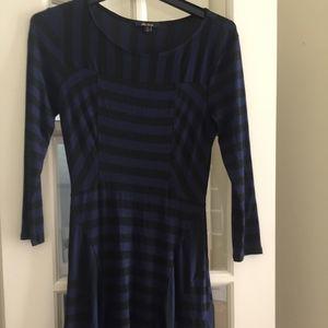 Ella Moss Navy/Black Knit Dress Sz XS NWOT's